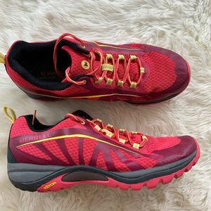 Merrell Select Fresh Red Trail/Running Shoes Women